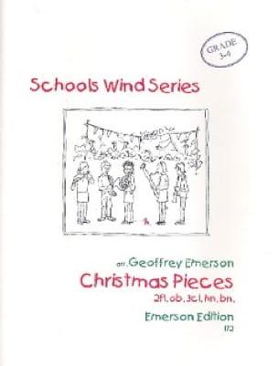 Christmas pieces -Wind octet - Score + parts - laflutedepan.com