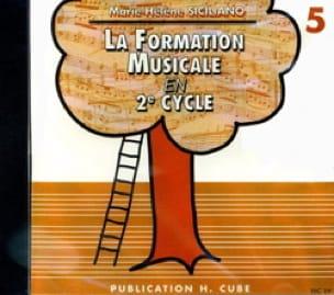 CD / Ma 5ème année de formation musicale - laflutedepan.com