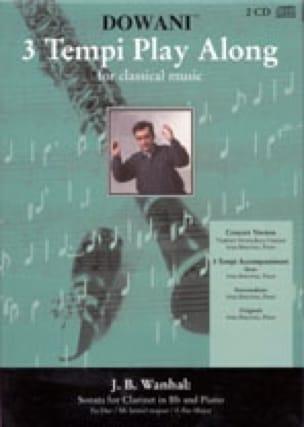 Johann Baptist Vanhal - Sonata for clarinet and piano - Partition - di-arezzo.co.uk
