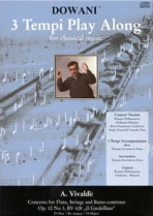 Concerto Flûte-Cordes et Bc Op. 10 N° 3 - Rv 428 - laflutedepan.com