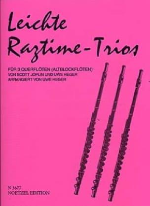 Leichte Ragtime-Trios - 3 Flöten Altblockflöten - laflutedepan.com