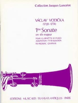 Sonate n° 1 en sib majeur - Vaclav Vodicka - laflutedepan.com