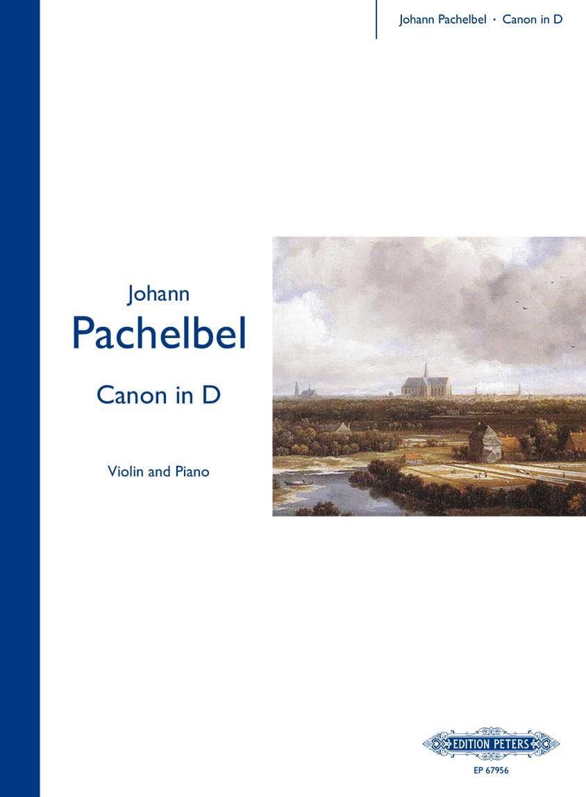 Johann Pachelbel - Canon In D - Violin - Partition - di-arezzo.ch