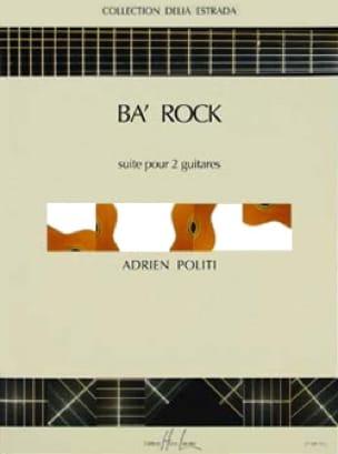 Ba' rock - Adrien Politi - Partition - Guitare - laflutedepan.com