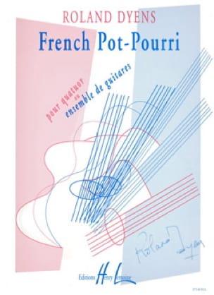 French Pot-Pourri - Roland Dyens - Partition - laflutedepan.com