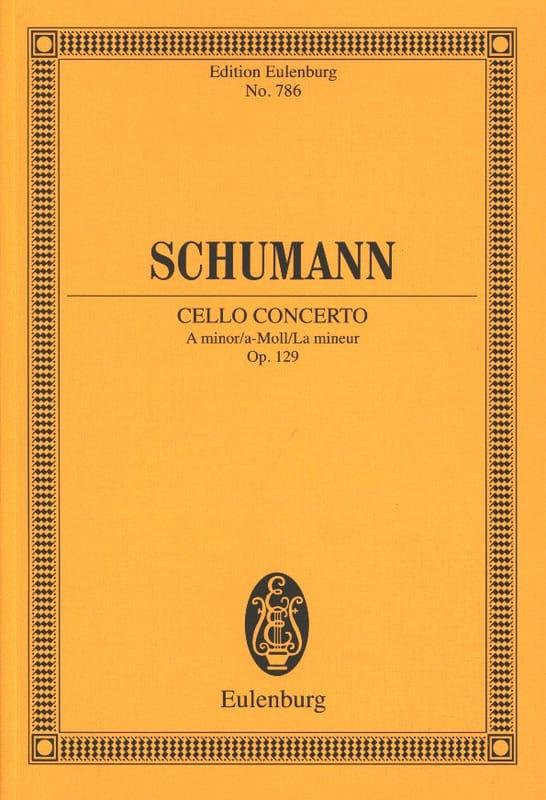 SCHUMANN - Violoncello-Konzert A-Moll, Op. 129 - Conductor - Partition - di-arezzo.es