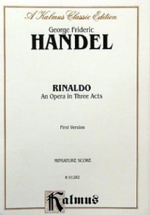 HAENDEL - Rinaldo - Score - Partition - di-arezzo.com