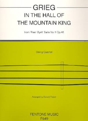 In the hall of the mountain King - String quartet - laflutedepan.com
