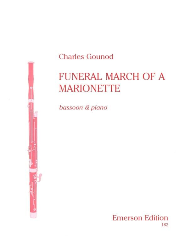 Funeral march of a marionette - GOUNOD - Partition - laflutedepan.com