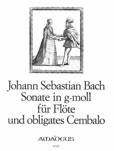 Sonate N° 7 en Sol Mineur BWV 1020 - BACH - laflutedepan.com