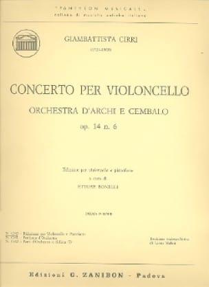 Concerto per violoncello op. 14 n° 6 - laflutedepan.com