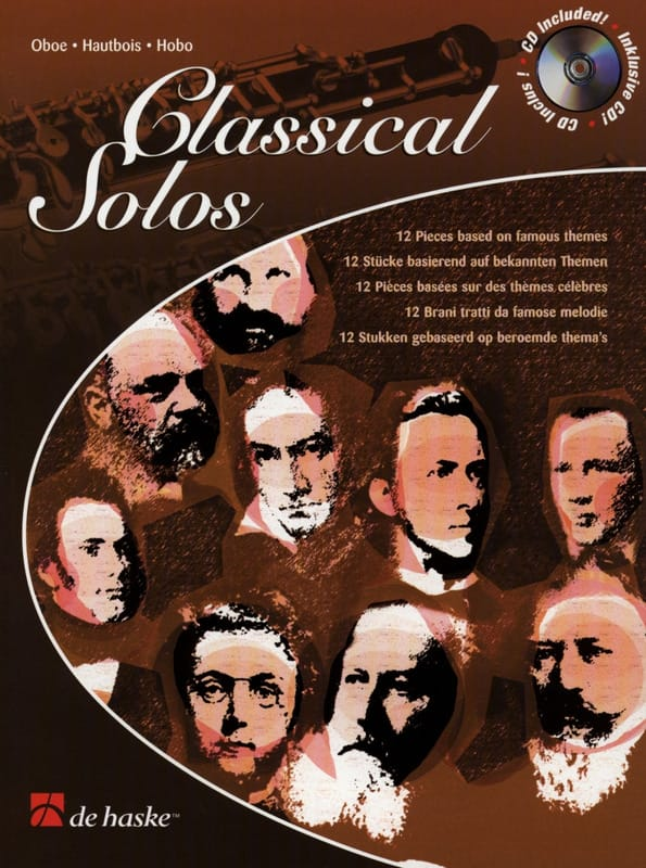 Classical Solos - Hautbois + CD - Partition - laflutedepan.com