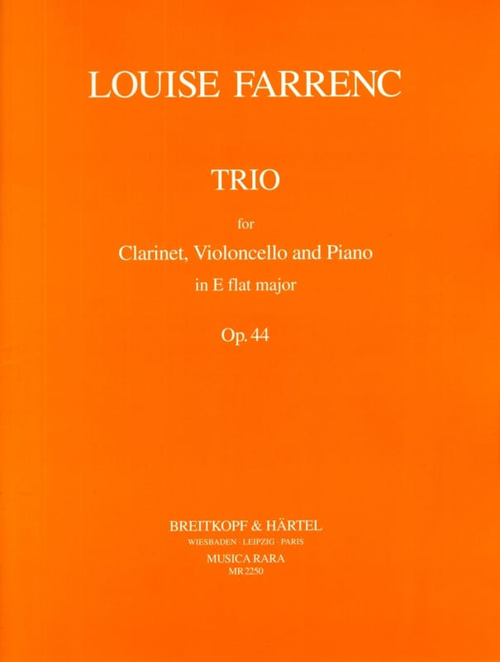Trio op. 44 E flat major -Clarinet cello piano - laflutedepan.com