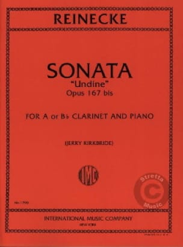 Sonate Undine op. 167bis - Clarinet - laflutedepan.com