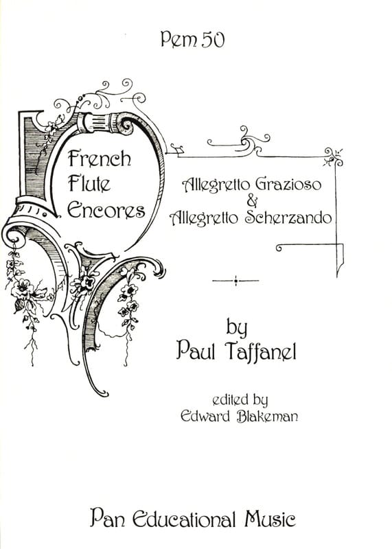 Paul Taffanel - Allegretto Grazioso and Allegretto Scherzando - Partition - di-arezzo.co.uk