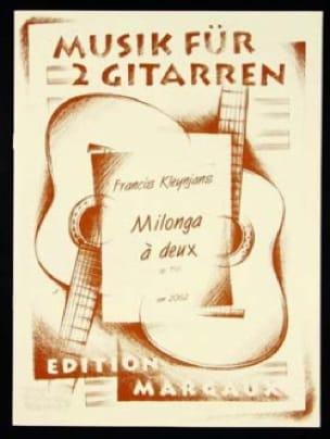 Milonga à deux op. 156 - Francis Kleynjans - laflutedepan.com