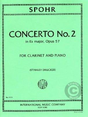 Louis Spohr - Clarinet Concerto No. 2 Eb major op. 57 - Partition - di-arezzo.co.uk