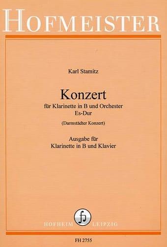 Carl Stamitz - Konzert Es-Dur Darmst. Kzt. - Klavier Klavier - Partition - di-arezzo.co.uk