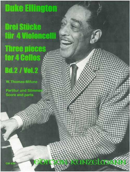3 Pieces for 4 Cellos - Volume 2 - Duke Ellington - laflutedepan.com