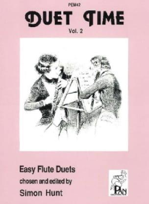 Duet time - Volume 2 - Flutes - Simon Hunt - laflutedepan.com