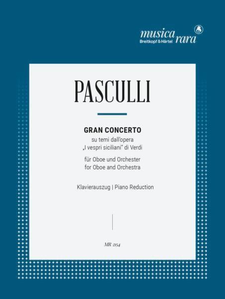 Antonino Pasculli - Gran concierto - Partition - di-arezzo.es