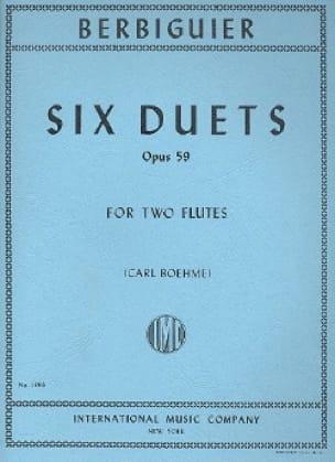 6 Duets op. 59 - 2 Flutes - laflutedepan.com