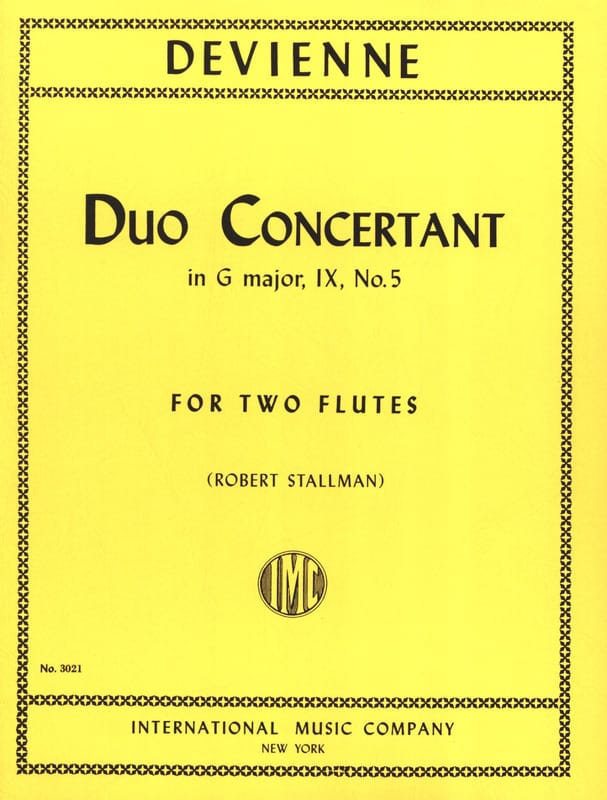 Duo Concertant in G major op. 9 n° 5 - 2 Flutes - laflutedepan.com