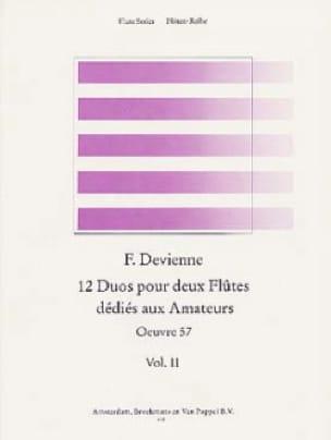 12 Duos dédiés aux amateurs Volume 2 - 2 Flûtes - laflutedepan.com