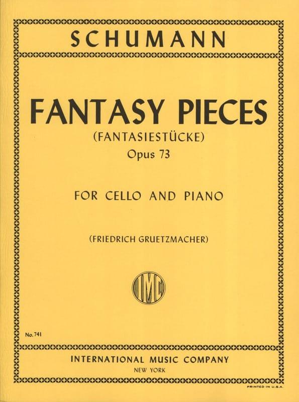Fantasy Pieces op. 73 - SCHUMANN - Partition - laflutedepan.com
