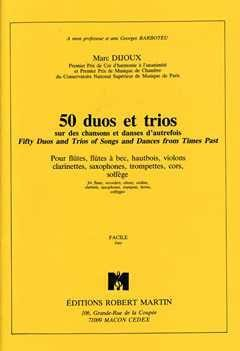 Marc Dijoux - 50 Duos and Trios - Partition - di-arezzo.com