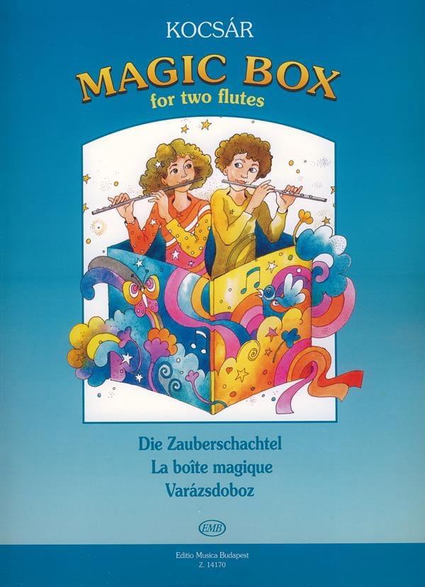 Magic Box -2 Flutes - Miklos Kocsar - Partition - laflutedepan.com