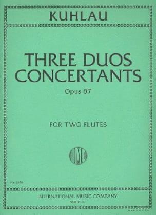 3 Duos concertants op. 87 - 2 Flutes - laflutedepan.com
