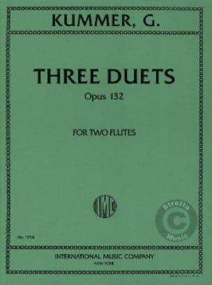 3 Duets op. 132 - 2 Flutes - Gaspard Kummer - laflutedepan.com