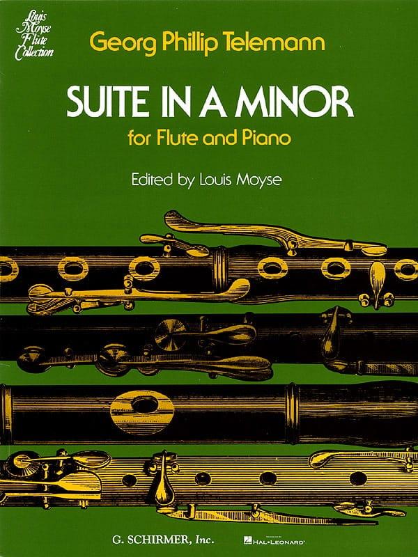 Suite En la Mineur - Flûte et Piano - TELEMANN - laflutedepan.com