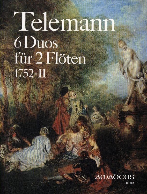 6 Duos 1752 . 2 - 2 Flöten - TELEMANN - Partition - laflutedepan.com