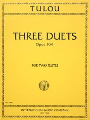 3 Duets op. 104 - 2 Flutes - Jean-Louis Tulou - laflutedepan.com