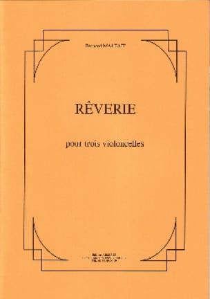 Rêverie - Bernard Malfait - Partition - laflutedepan.com