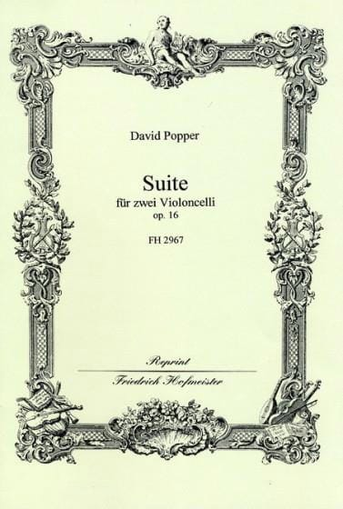 David Popper - Suite Op. 16 - Partition - di-arezzo.com