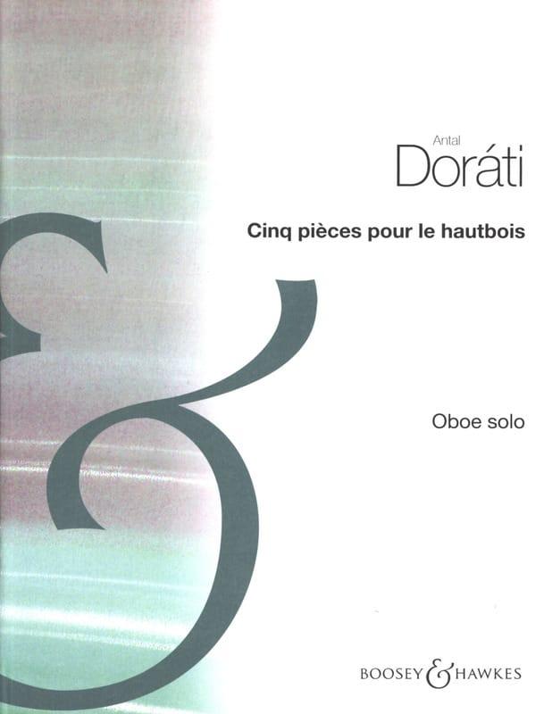 Cinq pièces pour le hautbois - Antal Dorati - laflutedepan.com