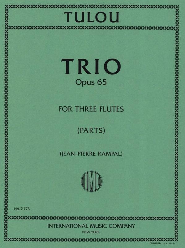 Trio op. 65 - 3 Flûtes - Jean-Louis Tulou - laflutedepan.com