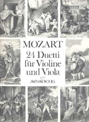 MOZART - 24 Duetti for Violine and Viola - Partition - di-arezzo.co.uk