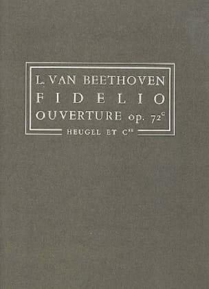 Fidelio, Ouverture op. 72c - Conducteur - BEETHOVEN - laflutedepan.com