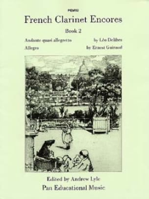 French Clarinet Encores - Book 2 - Andrew Lyle - laflutedepan.com