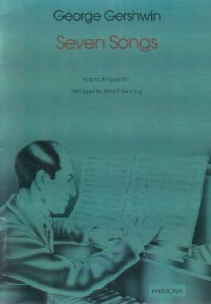 Seven Songs - Flute quartet - GERSHWIN - Partition - laflutedepan.com