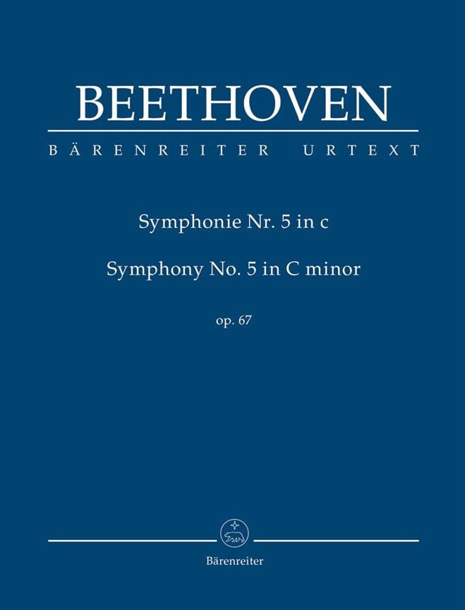 BEETHOVEN - Symphony No. 5 in Ut Min. Op. 67 - Partition - di-arezzo.co.uk