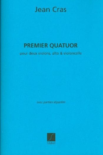 Quatuor à Cordes n° 1 - Jean Cras - Partition - laflutedepan.com