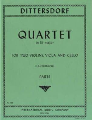 Quartet in E flat major -Parts - laflutedepan.com
