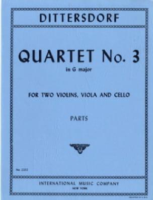 Quartet n° 3 G major -Parts - laflutedepan.com