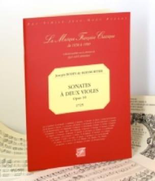 Sonates à deux violes op. 10 - 1725 - BOISMORTIER - laflutedepan.com