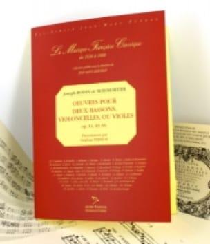 Oeuvres pour 2 bassons, violoncelles ou violes - laflutedepan.com